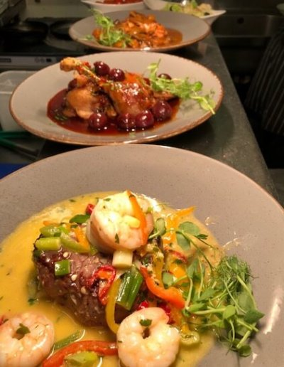 Dishes on the Pass