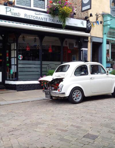 Prima Fiat 500
